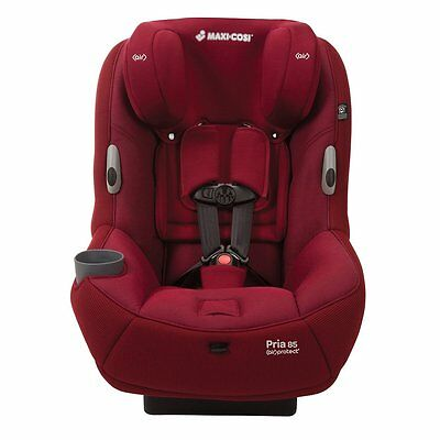 "Maxi-Cosi Pria 85 ""Ribble"" Special Edition Convertible Car Seat New Dehli Red!"