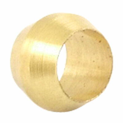 Brass Compression Sleeve Fittings Ferrule Ring for Tubing