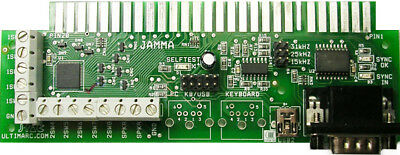 JPAC JAMMA Interface great for mame Brand NEW 2015 USB VERSION 1 YEAR WARRANTY