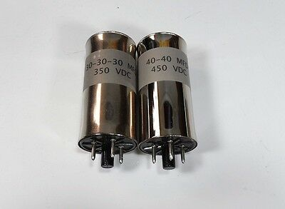 Collins R-390 / R-390A Receiver NEW Chassis Mounted Capacitor Can Set of (2)