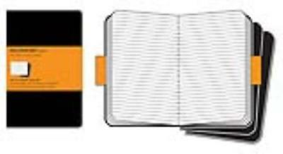 Moleskine Cathiers Black Ruled Journals - Not Available (Na) - New Paperback Boo
