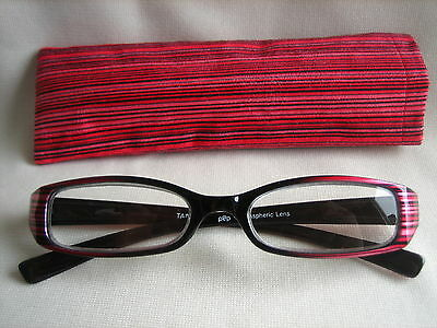 Womens Fashion colorful READING GLASSES / purple / red / gold / orange #5004