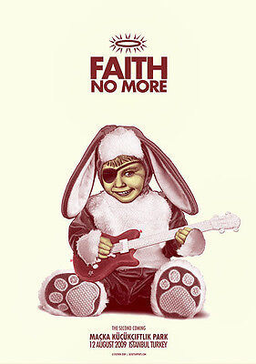 FAITH NO MORE Istanbul 2009 poster by Zoltron
