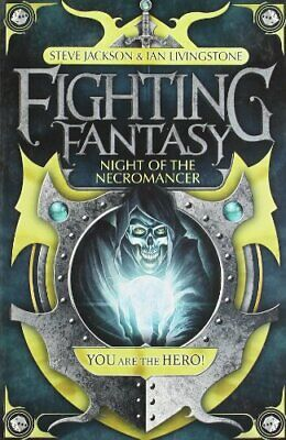 Night of the Necromancer (Fighting Fantasy) by Ian Livingstone Paperback Book