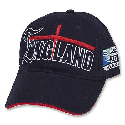 Official England Rugby Union World Cup 2011 Baseball Cap rrp£20 Rare (One size)