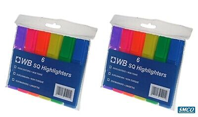 Pack of 4 Assorted Colors GEYZ-1 Anker Party Gel Crayon Highlighter