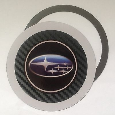 Magnetic Tax disc holder fits any subaru as