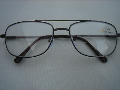 BIFOCAL READING GLASSES Metal Frame #R1018B/C