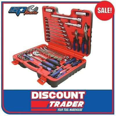 SP Tools 60 Piece 1/2'' Drive Tool Kit in X-Case - SP51205