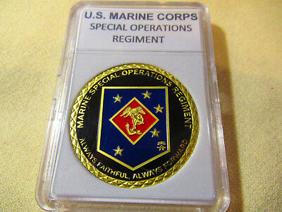 US MARINE CORPS SPECIAL OPERATIONS REGIMENT Challenge Coin