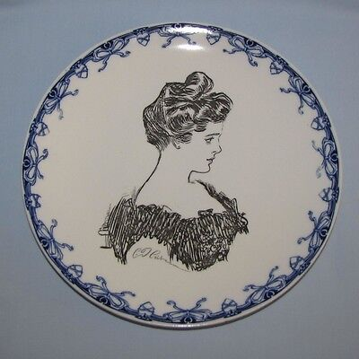 1900/15 Royal Doulton Gibson Girl Portrait/Heads Series Ware A Plate~RARE~3 of 8