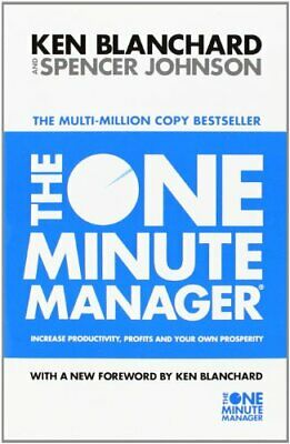 The One Minute Manager - Increase Productivity,... by Johnson, Spencer Paperback