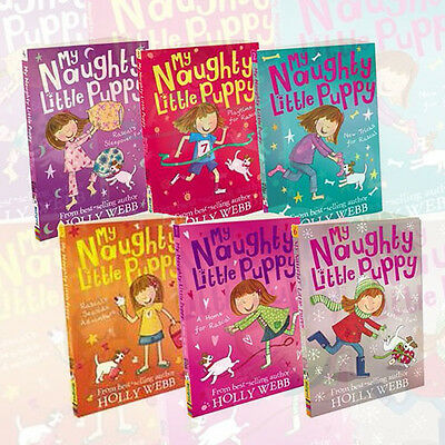 Holly Webb My Naughty Little Puppy 6 Books Collection,Playtime for Rascal New PB