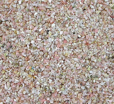 1/4 Ounce Natural Pink Opal Jewelry Craft Chip Inlay Pieces 2mm & Less NO POWDER