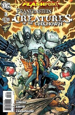Flashpoint - Frankenstein & the Creatures of the Unknown (2011) #3 of 3