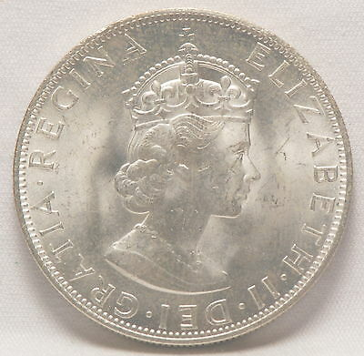 Bermuda, 1964 Crown, silver, Brilliant Uncirculated