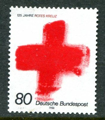 Germany 1988 Red Cross Stamp Mint Complete!