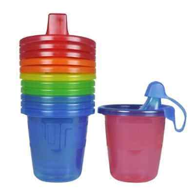 7 Ounce Toddler Baby Infant Spill Proof Click Lock Training Spout Sippy Cups
