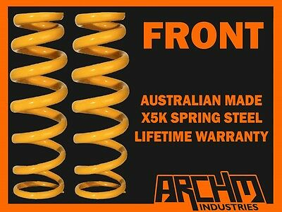 """FRONT """"LOW""""30mm LOWERED COIL SPRINGS TO SUIT NISSAN DATSUN 240K 1972-77 SEDAN"""