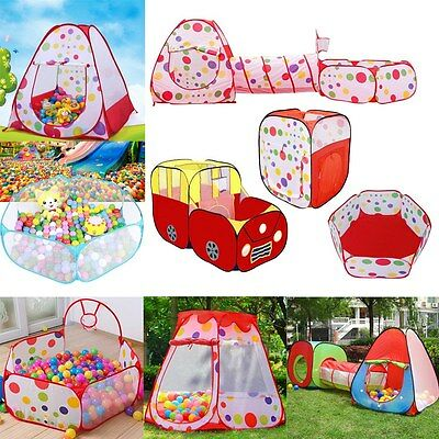 Outdoor / Indoor Kids Game Play Children Toy Tent Portable Ocean Ball Pit Pool