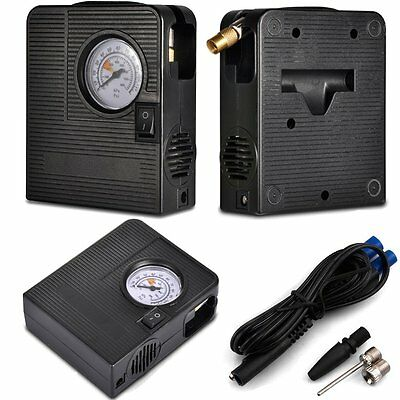 jump starter powered car pump air compressor tire tyre ball inflator 12V LED SOS