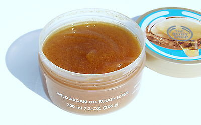 The Body Shop - Wild Argan Oil Body Scrub 200ml