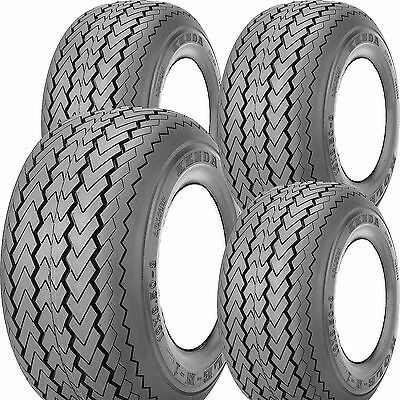 4) 18x8.50-8 Kenda Hole-N-1 Golf Cart Tires EXTRA HEAVY LOAD 6ply Course Legal