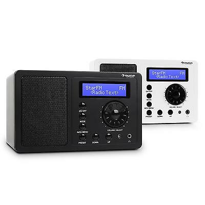 Dab/dab+ Digital Radio Sound Ukw Rds Portable Tuner Küchen Bluetooth Lcd Musik