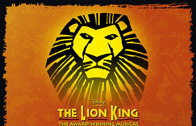 LION KING Ticket and Hotel LONDON THEATRE BREAK for ONLY £125