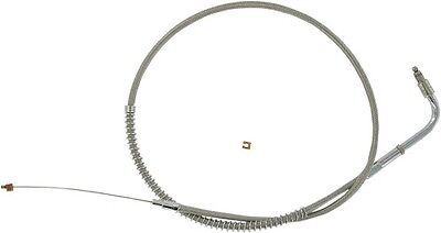 Stainless Clear-Coated Idle Cable (sold each)  Barnett 102-30-40009