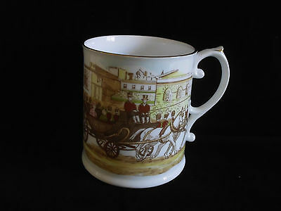 Caverswall Queen Mother 80th Birthday Limited Edition Mug