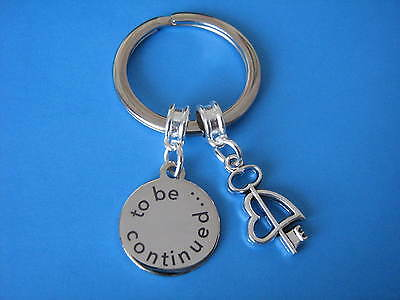 Engagement Gift Boyfriend Girlfriend Partner Love Heart Key Keychain