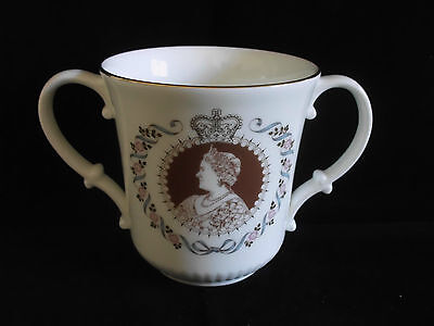 Royal Doulton Queen Mother 80th Birthday Loving Cup