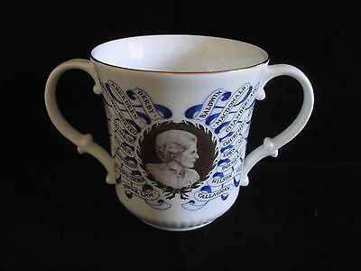 Royal Doulton Margaret Thatcher First Woman Prime Minister Loving Cup