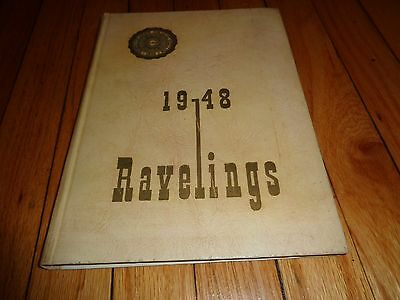 1948 Monmouth College Yearbook Monmouth Illinois