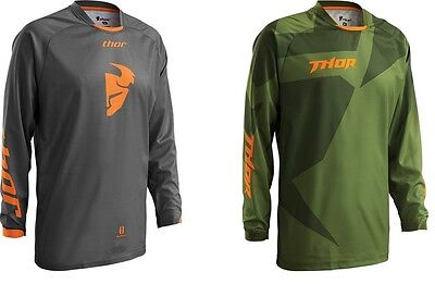 Thor Adult 2016 MX ATV Phase Offroad Jersey All Colors S-3XL