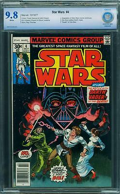 Star Wars 4 CBCS 9.8 - White Pages