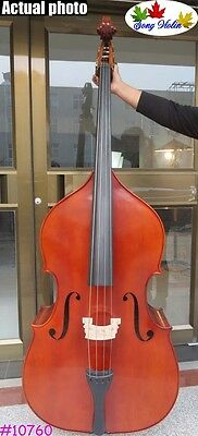 Hand-made solid wood professional Song master upright double bass 3/4 #10760