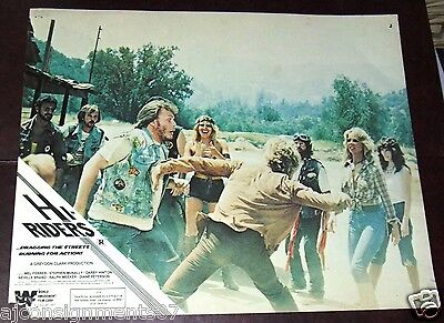 "{Set of 8} Hi Riders {MEL Ferrer} 11x14"" Original U.S Lobby Cards 70s"