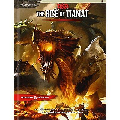 Dungeons & Dragons: Tyranny of Dragons The Rise of Tiam - Hardcover NEW Coast, W