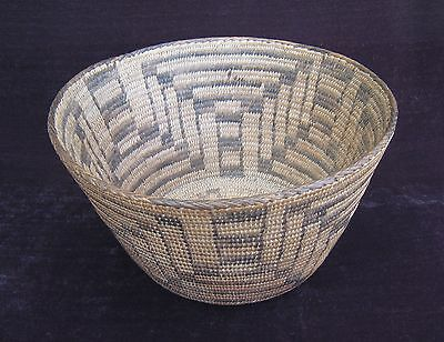 Native American Pima Basket  (1920's)    #2036
