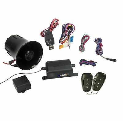AUDIOVOX PRESTIGE APS25E Remote Car Alarm Security System Shock Sensor + Remotes