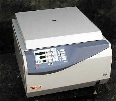 XCLNT Thermo /Jouan C4i 3-Liter 7800 RPM Centrifuge with Rotor & Buckets
