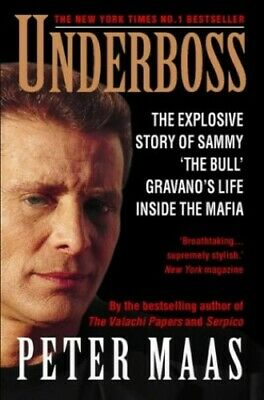 Underboss, Maas, Peter Paperback Book The Cheap Fast Free Post