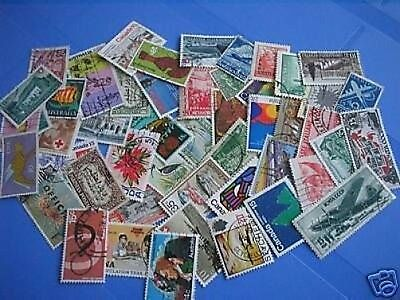 Packet of 50 x different better World stamps - Used