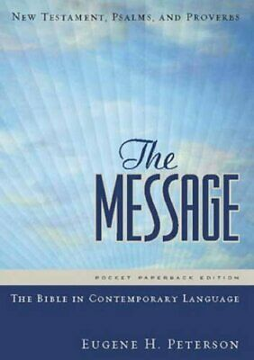The Message Compact New Testament Paperback: Ne by Eugene H. Peterson 1576839370