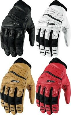 Icon Superduty 2 Street Motorcycle Riding Gloves All Sizes All Colors