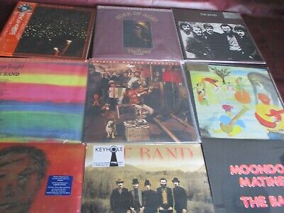 The Band Big Pink & Brown Uk + Japan Before The Flood+Waltz+Mfsl Fright+Rockages