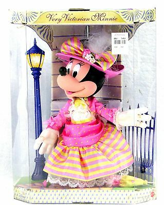 "NIB Disney Minnie Mouse Very Victorian 11"" Poseable Collectible Matel Doll"