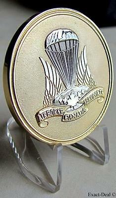 Canada 40th Anniversary 1968 - 2008 Canadian Airborne Regiment Coin Medal